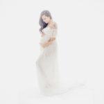 Schwangerschaftsfotos Babybauch im Studio in Kempen