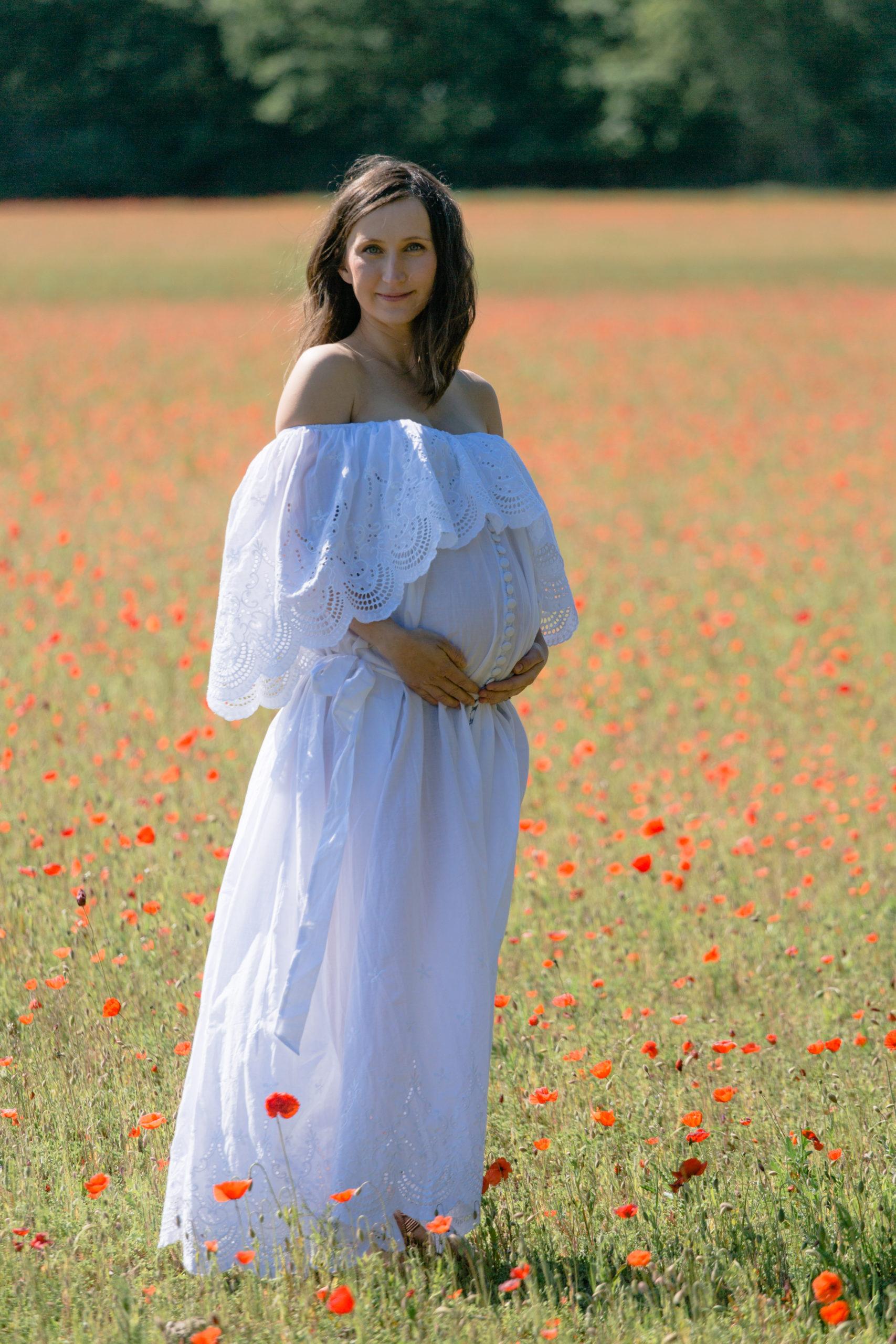 Babybauchshooting Kempen Krefeld Boho-outfit